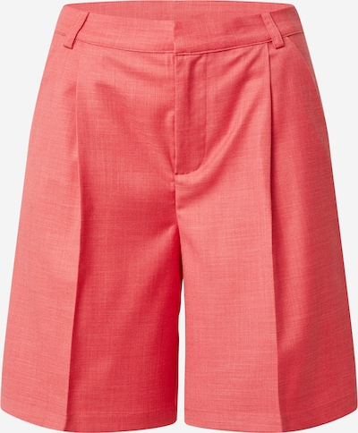 Résumé Trousers with creases 'Elodie' in Pastel red, Item view