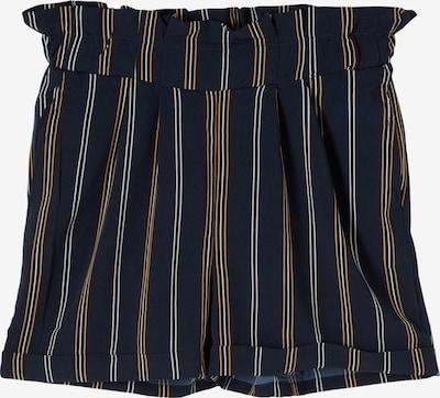 NAME IT Shorts 'Dera' in navy / senf / weiß, Produktansicht
