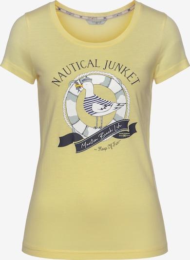 Tom Tailor Polo Team T-Shirt in gelb / senf, Produktansicht