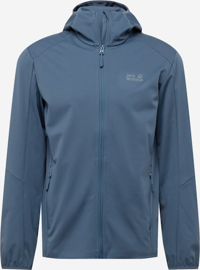 JACK WOLFSKIN Outdoor jacket 'Go Hike' in Dusty blue / Grey, Item view