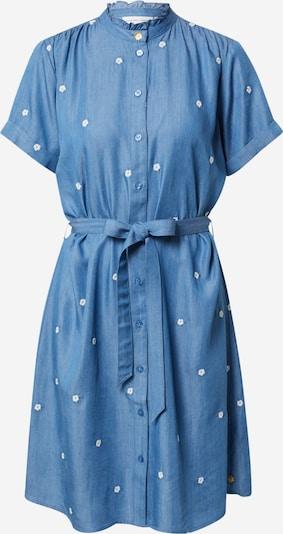 Fabienne Chapot Robe-chemise 'Indy' en bleu denim / blanc, Vue avec produit