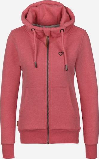 Alife and Kickin Sweatjacke 'Yasmin' in pink: Frontalansicht