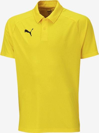 PUMA Poloshirt in gelb, Produktansicht