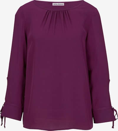 heine Bluse in cyclam: Frontalansicht
