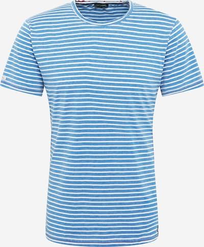 Key Largo Majica 'DANIEL' u plava / bijela: Prednji pogled