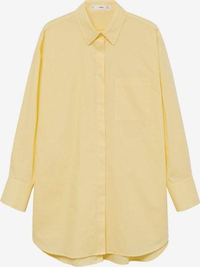 Bluză 'James' MANGO pe galben citron, Vizualizare produs