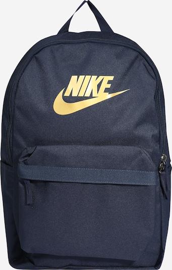 Nike Sportswear Rygsæk 'Heritage 2.0' i navy / sennep, Produktvisning