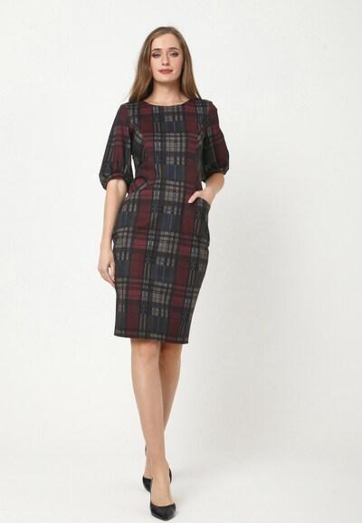 Madam-T Kleid 'AGARATA' in rot, Modelansicht
