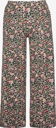 Pantaloni de pijama Ulla Popken pe bej / roz / negru, Vizualizare produs