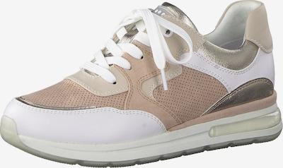 Sneaker low MARCO TOZZI pe roz / alb, Vizualizare produs