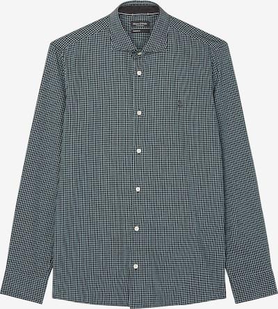 Marc O'Polo Hemd in dunkelgrün / weiß, Produktansicht