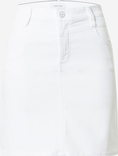 Calvin Klein Sukně - bílá džínovina, Produkt