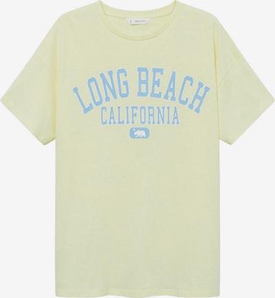 Tricou 'SORBETE' MANGO TEEN COLLECTION pe albastru deschis / galben pastel / alb, Vizualizare produs
