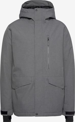 QUIKSILVER Athletic Jacket in Grey