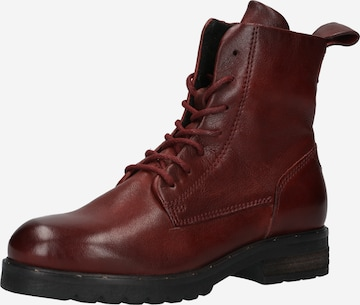 MJUS Lace-Up Ankle Boots 'Pepes-Peperita' in Red