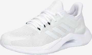 Sneaker de alergat 'ALPHATORSION 2.0' de la ADIDAS PERFORMANCE pe alb