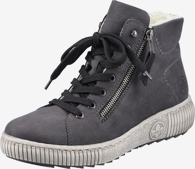 RIEKER Lace-Up Ankle Boots in Dark grey, Item view