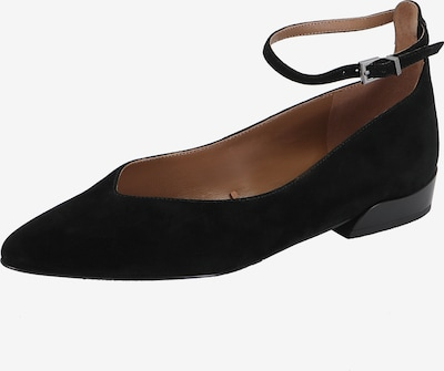 Ekonika Ballerinas in schwarz, Produktansicht