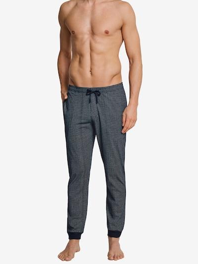 SCHIESSER Pyjamabroek in de kleur Blauw: Vooraanzicht
