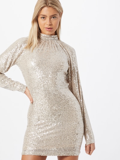 NA-KD Kleid in gold, Modelansicht