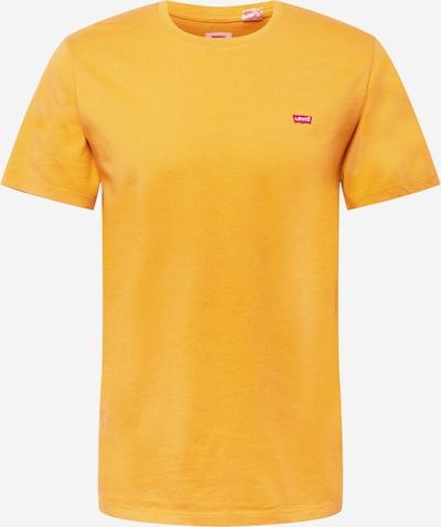 Tricou LEVI'S pe galben șofran / roșu, Vizualizare produs