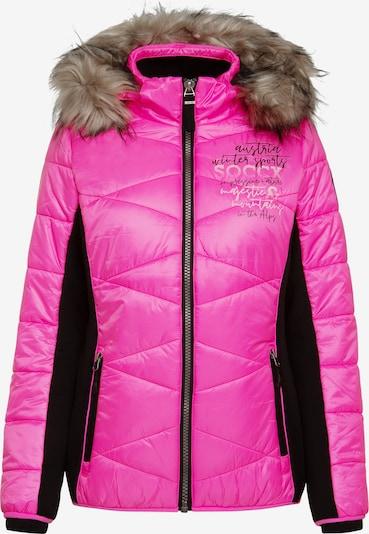 Soccx Winterjacke in pink, Produktansicht