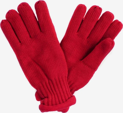 SAMAYA Fleecehandschuhe mit Fleecefutter in rot, Produktansicht