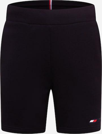 Tommy Sport Sportsbukser i svart