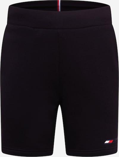 Tommy Sport Shorts in rot / schwarz / weiß, Produktansicht