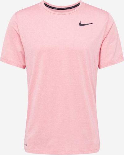 NIKE T-Shirt fonctionnel en rouge clair, Vue avec produit