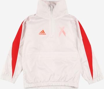 balts ADIDAS PERFORMANCE Sporta krekls