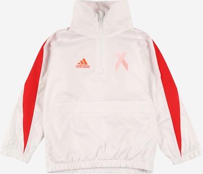ADIDAS PERFORMANCE Sportshirt in rot / weiß, Produktansicht