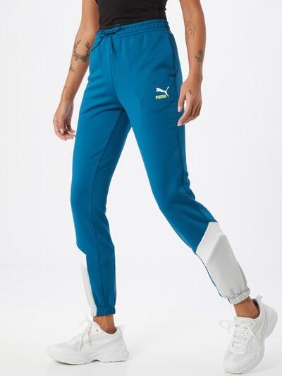 PUMA Hose in blau / weiß, Modelansicht