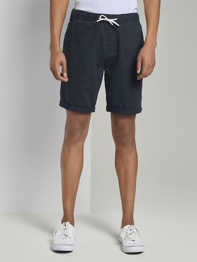 TOM TAILOR DENIM Pantalon en marine, Vue avec modèle