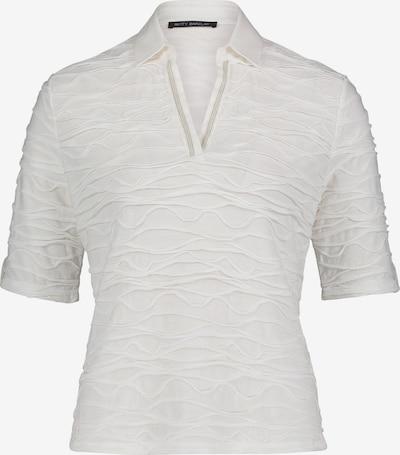 Betty Barclay Poloshirt mit Wellenstruktur in weiß, Produktansicht