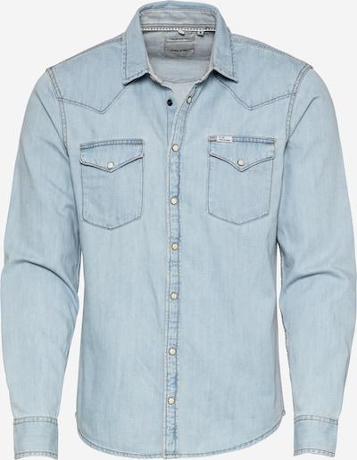 Camicia BLEND di colore blu denim, Visualizzazione prodotti