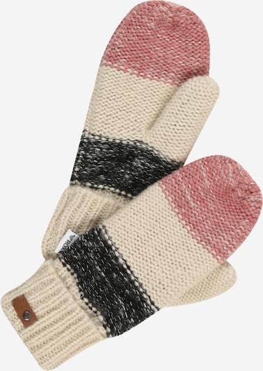 ROXY Handschuh 'Shelby' in beige / rosa / schwarz, Produktansicht