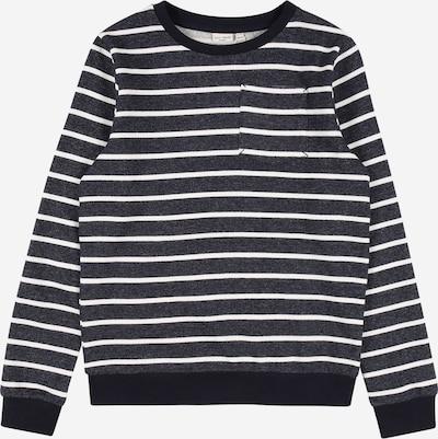 NAME IT Sweatshirt 'VANNO' in marine / taubenblau / weiß, Produktansicht