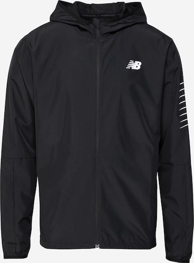 new balance Sportska jakna u crna / bijela, Pregled proizvoda