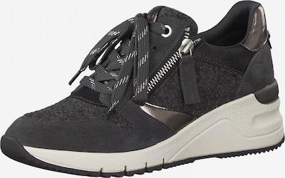 Sneaker low TAMARIS pe gri închis / argintiu, Vizualizare produs