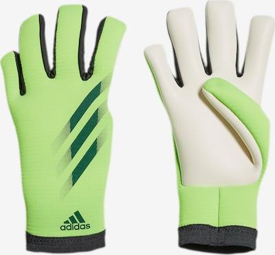 ADIDAS PERFORMANCE Sporthandschuhe 'X GL TRN' in tanne / hellgrün / schwarz / weiß, Produktansicht