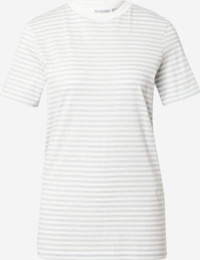 SELECTED FEMME Shirt in opal / weiß, Produktansicht