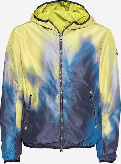 Colmar Tussenjas in de kleur Blauw / Royal blue/koningsblauw / Geel, Productweergave