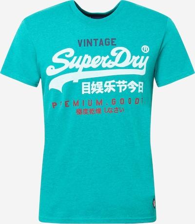 Superdry T-Shirt in türkis, Produktansicht