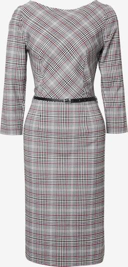 Madam-T Kleid 'Muara' in beige / grau / weinrot / schwarz / weiß, Produktansicht