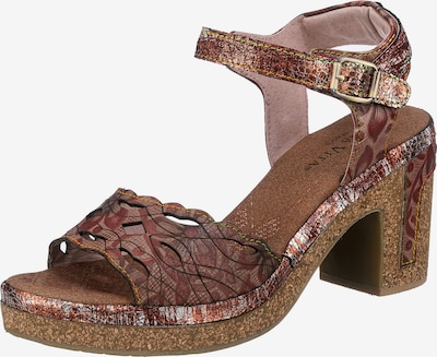 Laura Vita Strap Sandals ' Hecalo' in Brown / Mixed colors, Item view