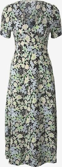 TOM TAILOR DENIM Kleid in creme / hellblau / oliv / apfel / schwarz, Produktansicht