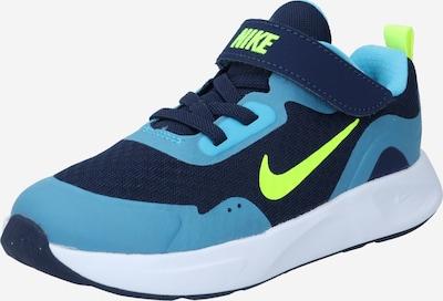 Nike Sportswear Tennarit 'Wear All Day' värissä laivastonsininen / turkoosi / neonvihreä, Tuotenäkymä