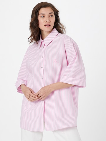 River Island Bluse in Pink