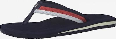 TAMARIS Žabky - námořnická modř / červená / bílá, Produkt
